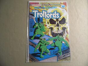 Trollords #1 (Comico 1988) Free Domestic Shipping
