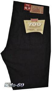 Pantalone-uomo-jeans-cotone-CARRERA-taglia-48-50-52-54-56-58-60-62-leggero-NERO