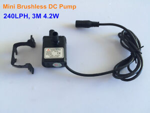 New 30A-1230 240LPH 3M 4.2W Small Brushless DC Water Pump Waterproof Submersible