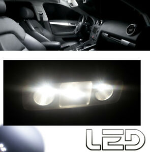 Dacia-SANDERO-2-4-Ampoules-LED-Blanc-Habitacle-eclairage-plafonnier-Coffre