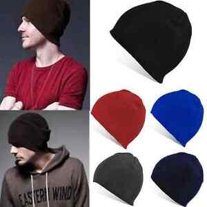 Unisex-Men-Women-Hip-Hop-Ski-Beanie-Cap-Wool-Knitted-Winter-Warm-Cuff-Skull-Hat