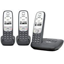 Siemens Gigaset A415 A Trio schnurloses Telefon mit Anrufbeantworter