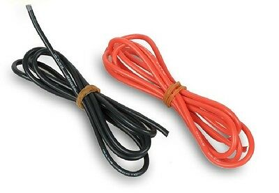 1meter Red And 1meter Black 14# 14 AWG 14AWG Heatproof Soft Silicone Wire