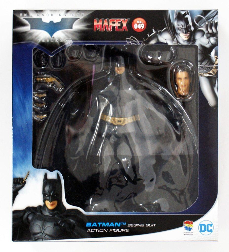 DC Mafex Dark Knight Trilogy Batman Begins Suit Action Figure