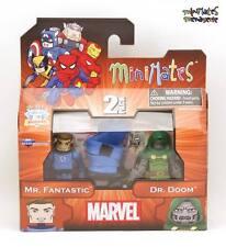 Marvel Minimates Best Of Series 2 Mr. Fantastic & Dr. Doom