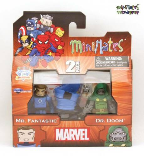 Fantastic /& Dr Marvel Minimates Best Of Series 2 Mr Doom