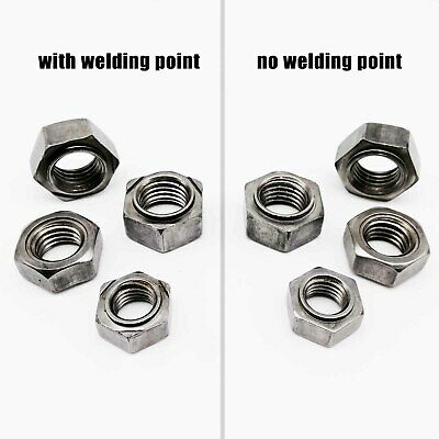 Weld Studs Type PT Metric 200 pcs ISO 13918 A2 Stainless Steel M8-1.25 X 35mm