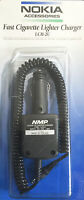 Nokia Rapid Cigarette Lighter Charger Lch-2u Lch-2 Pt128 232