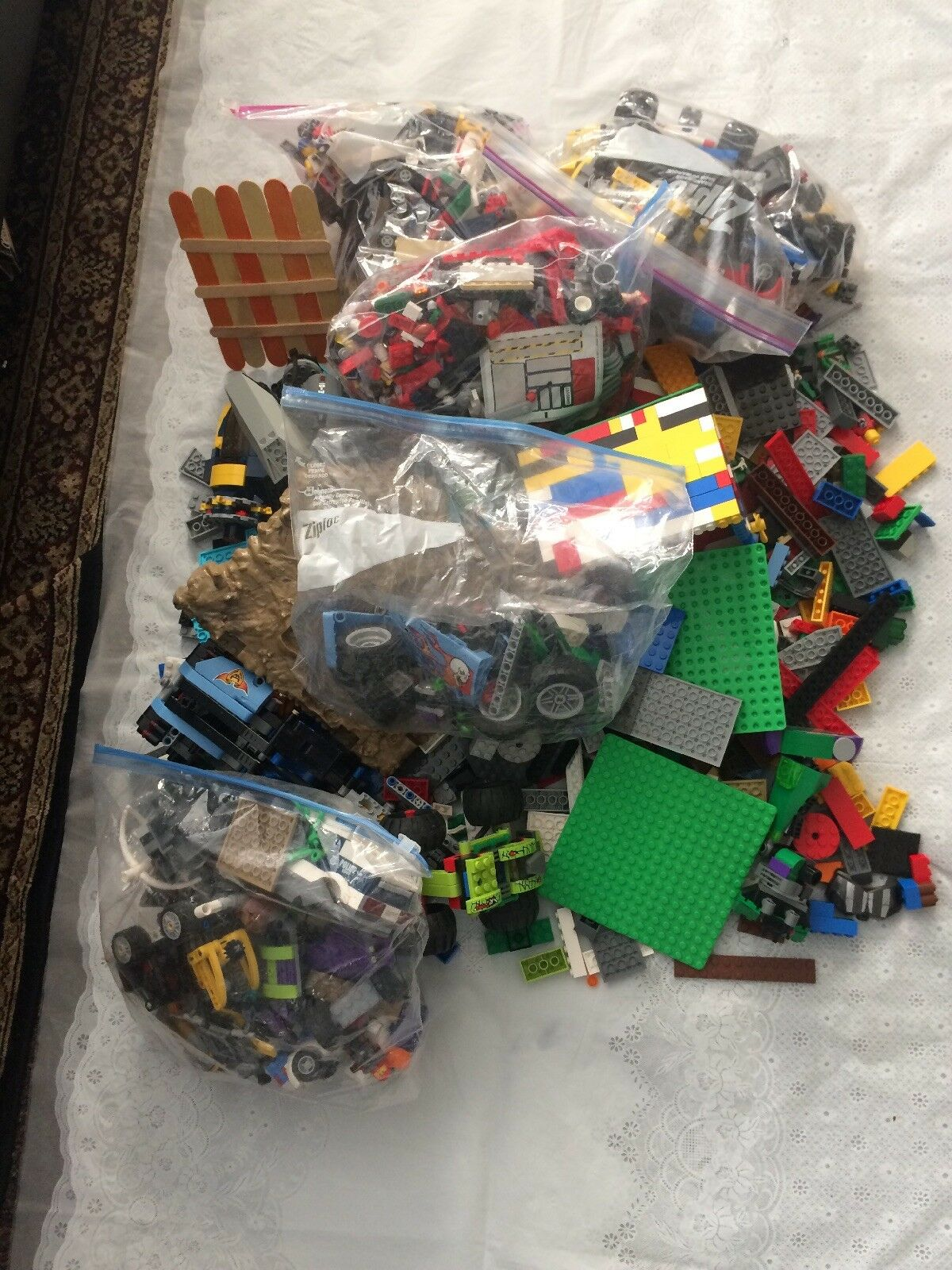 LEGO Lot 12 pounds LBS Bulk Lot 100% Genuine