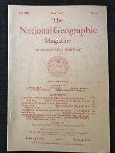 REPRINT-National-Geographic-Magazine-May-1897-Vol-VIII-No-5-Costa-Rica