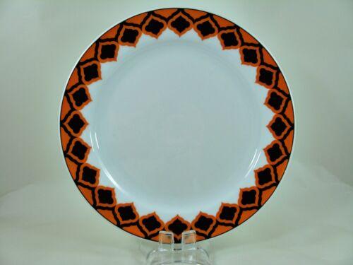 70 anni egli-RETRO-Arancione-Marrone dessert piatti-Ø c MELITTA 19,5 cm