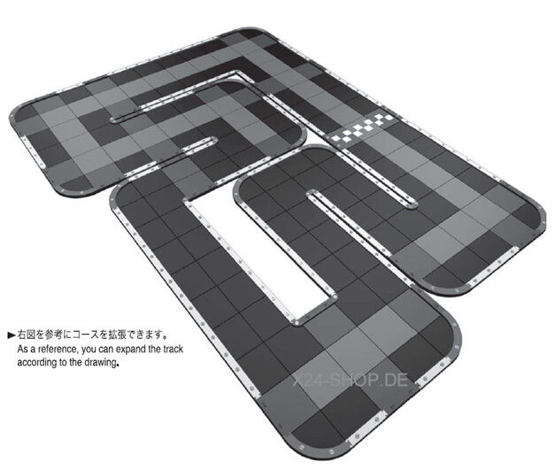 KYOSHO MINI-Z RACER GRANPRIX Circuit 30 Short option-Set  87031-01