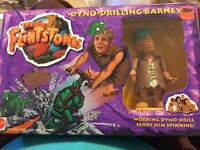 1993 Mattel--the Flintstones--barney (new) Rick Moranis From Movie