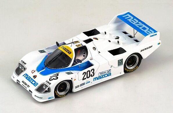 Mazda 767 Terada-Kennedy-Dieudonné  Le Mans  1988 (Spark 1 43   S0643)
