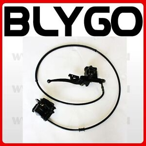 Hydraulic-Rear-Disc-Brake-Caliper-System-Pads-110cc-125cc-Quad-Dirt-Bike-ATV