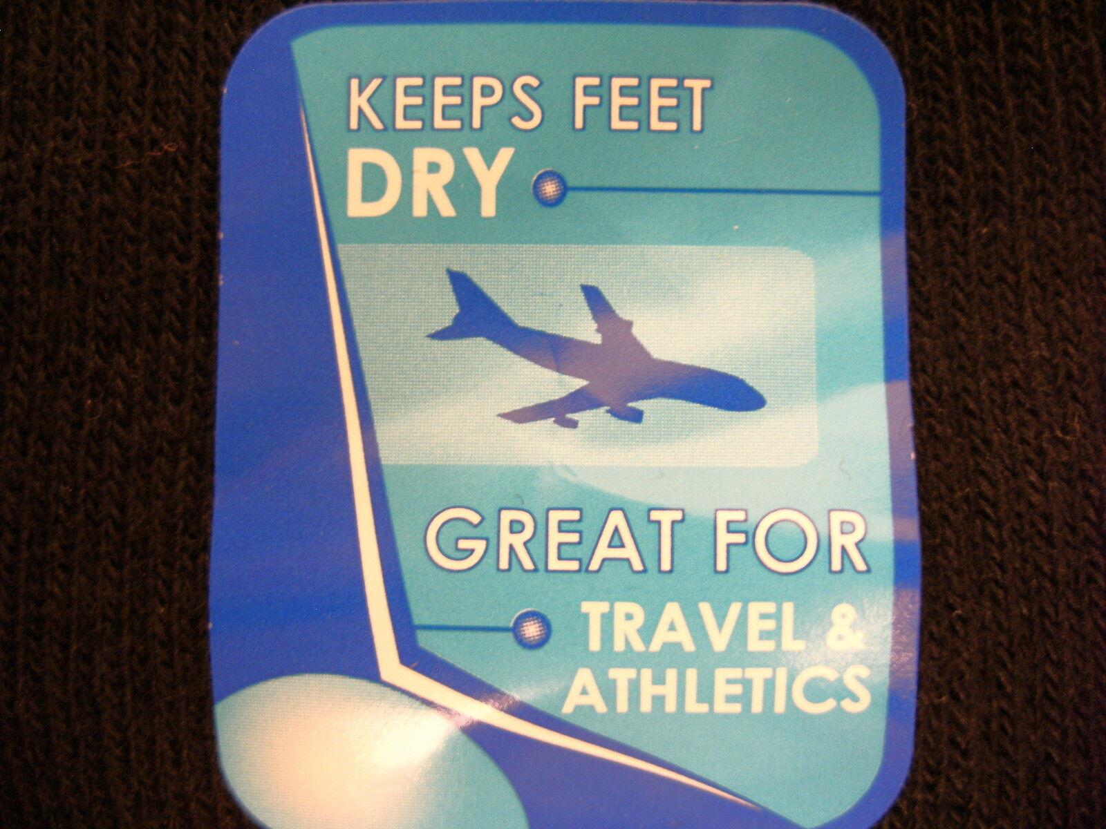 120 pr MEN travel sport crew medium socks COTTON  blend black MediPeds 8399