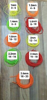 2m length HIGHEST QUALITY HOLLOW POLE ELASTIC RATED 7-11