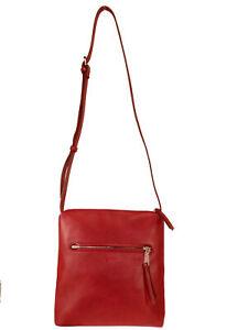 Details zu Esprit Damen Handtasche Tasche Schultertasche Tori medium bag Rot 069EA1O014 610