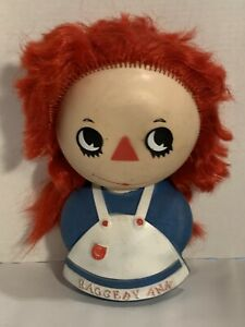 Vintage-1973-Raggedy-Ann-Toy-Nasco-Dolls-Inc-The-Bobbs-Merril-Co-Inc
