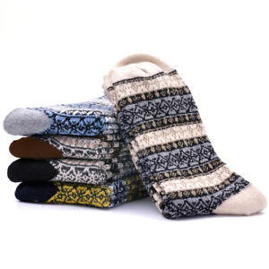 1-Pairs-Mens-Socks-Cotton-Wool-Cashmere-amp-Comfortable-amp-Warm-Winter-Thick-Cost