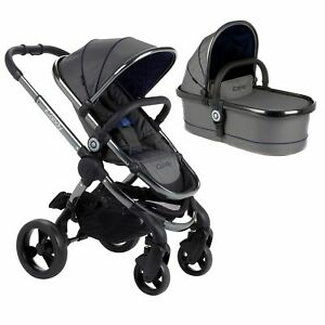SCRATCHED-iCandy-Peach-Pushchair-And-Carrycot-Set-Moonlight