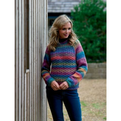 Knitting Pattern James C Brett JB553 Chunky Jumper