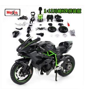 Maisto 112 Kawasaki Ninja H2r Assembly Line Kit Motorcycle Model