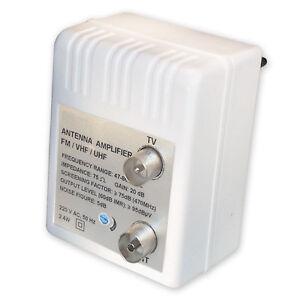 Antenas-amplificador-para-cable-TV-DVBT-refuerzos-20-DB-variable-0-10-DB