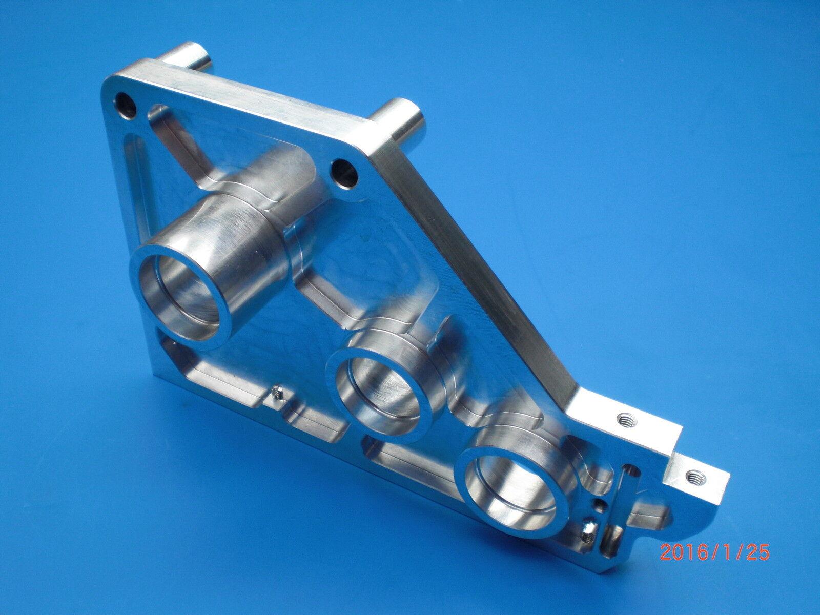 Lauterbacher Alu-Getriebeplatte für Graupner MT 6  | Tragen-wider