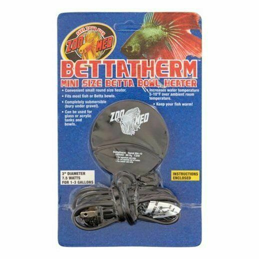 Zoo Med Betta Therm Compact Fish Tank