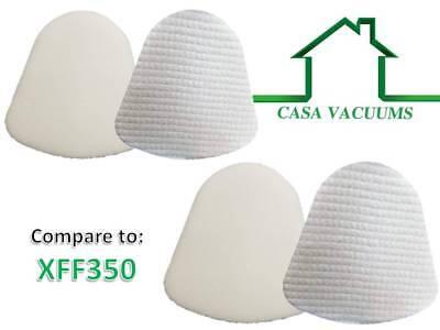 10Sets XFF350 Foam Felt Filters for Shark Navigator Lift Away NV350 NV351 NV352