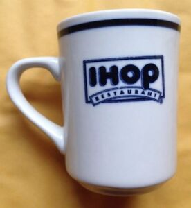 IHOP-HOUSE-OF-PANCAKES-RESTAURANT-WARE-COFFEE-MUG-DELCO-CHINA-VINTAGE-MINT