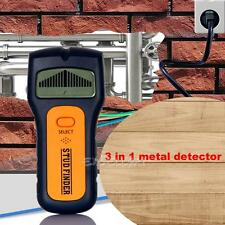 3 in 1 LCD Multi-Function Detector Stud Metal AC Live Wire Cable Scanner Finder