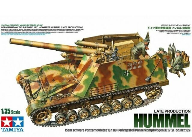 Tamiya 35367 - 1/35 German Heavy Self-Propelled Obice Hummel ( Tardi Produzione)