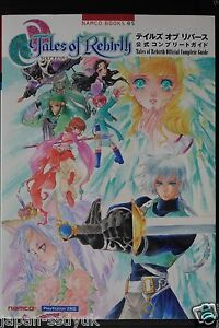JAPAN-Tales-of-Rebirth-Official-Complete-Guide-Namco-Book