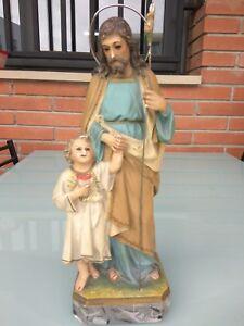 IMAGEN DE SAN JOSE CON EL NIÑO JESUS