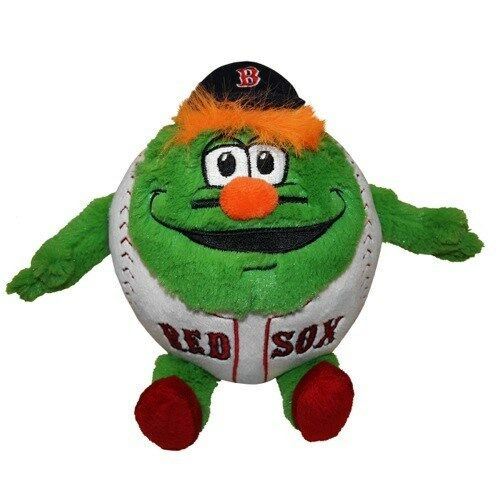 Wally The Green Monster Boston Red Sox Mascot Plush Ball Orbiez Ebay