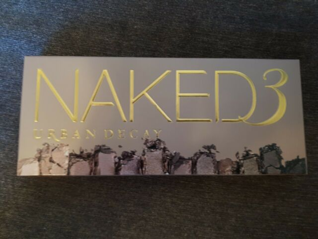 Brand New URBAN DECAY Naked 3 Palette Original Packaging & Free Shipping