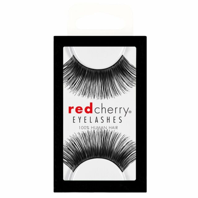 c58a70b7078 Style #80 Red Cherry 100 Human Hair Ultimate False Lashes / Fake ...