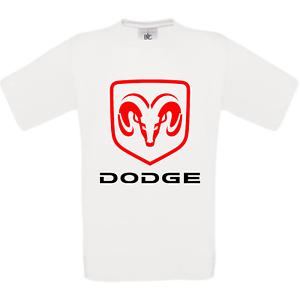 DODGE-RAM-150-CHARGER-CALLENGER-VIPER-tee-shirt-homme-blanc-noir-gris