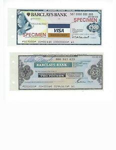 UNITED-KINGDOM-BARCLAYS-BANK-100-POUNDS-SPECIMEN-TRAVELERS-CHECK-2-POUND-UNC