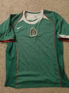 3b9c35878 NIKE Federacion Mexicana de Fútbol Mexico Men s Soccer Jersey Size L ...