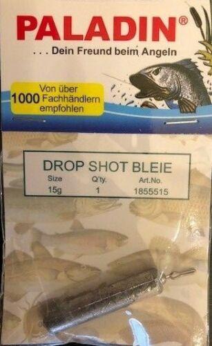 Paladin Drop Shot Blei 8g 10g 15g 22g