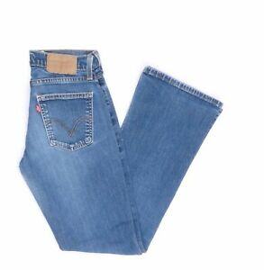 Levi's Levis Jeans 529 W29 L32 blau stonewashed 29/32 Bootcut -JA9121