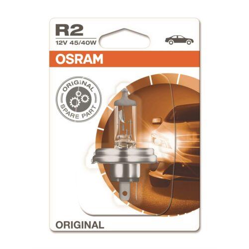 Osram Lampen Scheinwerfer rechts R2 Bilux H4 für Fiat Panda 141/_ 141A/_ inkl