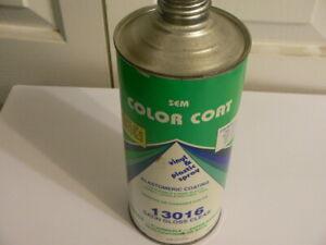 SEM-Color-Coat-Vinyl-Plastic-Paint-Cone-Top-Quart-Can-Satin-Gloss-Clear-13016
