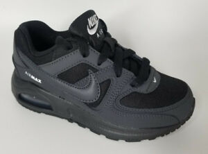 df4b16032c Authentic Nike Air Max Command Flex Sneaker sport shoes Black kids ...