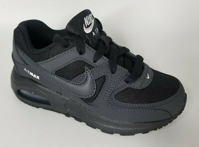Authentic Nike Air Max Command Flex Sneaker sport shoes Black kids boys sneakers