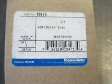 Thomas Amp Betts 13473 Crimping Die For Tbm6 Amp Tbm6s