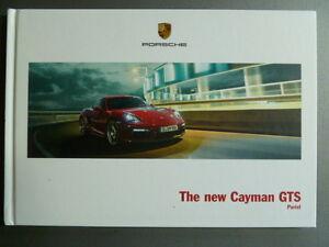 Details About 2014 Porsche Cayman Gts Hardbound Showroom Advertising Sales Brochure Rare